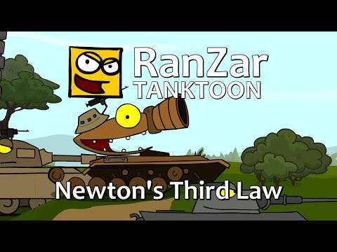 Tanktoon - Newtonov tretí zákon
