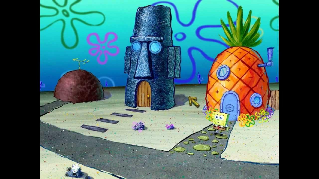 spongebob schwammkopf spiel