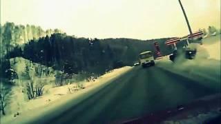 Подборка ДТП с видеорегистраторов 9 \ Car Crash compilation 9