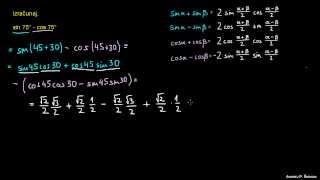 Faktorizacija trigonometričnih izrazov – naloga 3