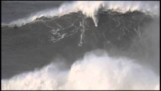 Andrew Cotton at Nazaré Feb.2 - 2014 Ride of the Year Entry - Billabong XXL Big Wave Awards