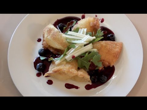 FRIED CHEESE WONTONS - VIDEO RECIPE