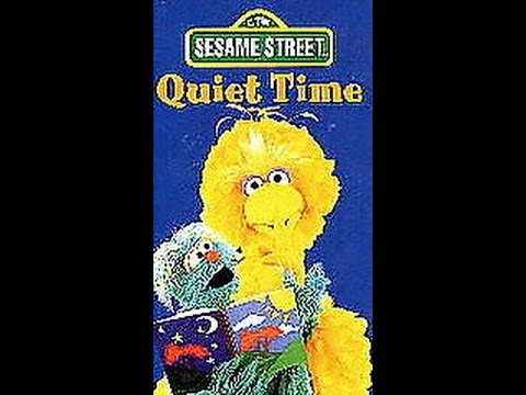 opening to sesame streetquiet time 1997 vhs youtube