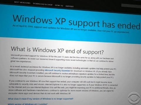 End of Windows XP support will be trouble for businesses, consumers