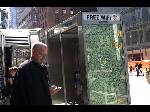 NYC Wants To Turn Old Payphones Into WiFi Hotspots