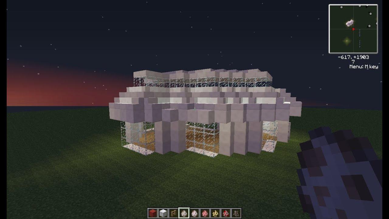 как построить дом в горе в minecraft видео