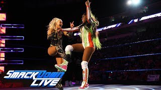 Naomi vs. Lana - Dance-Off: SmackDown LIVE, May 29, 2018