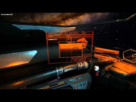 Elite:Dangerous space dock landing