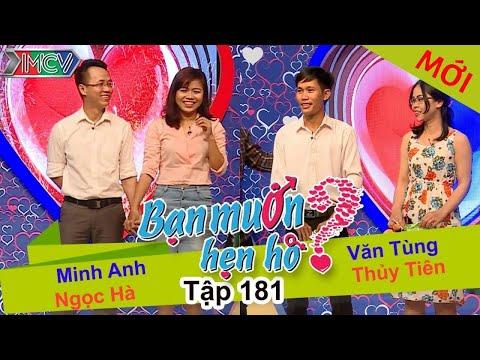 BẠN MUỐN HẸN HÒ - Tập 181 | Ngọc Hà - Minh Anh | Thủy Tiên - Văn Tùng | 03/07/2016