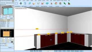 How To Design Concrete Kitchen Cabinet Using KDMAX