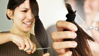 People Try To Cut Their Own Hair Using YouTube Tutorials