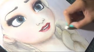 Dibujo veloz - Elsa