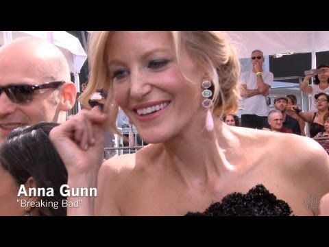 Emmy Red Carpet: Anna Gunn of