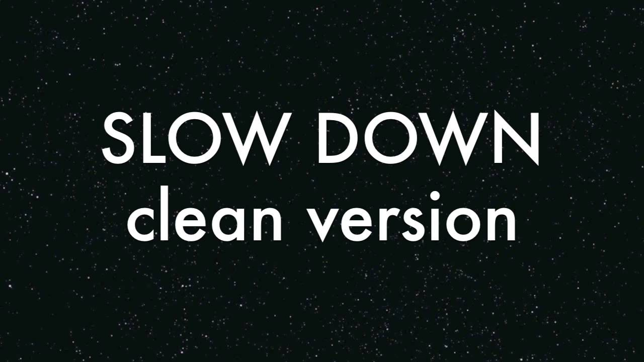 Slow Down Clyde Carson Download Free Mp3 Song - Mp3tunes