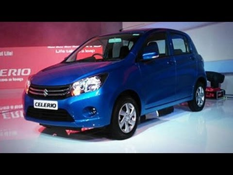 Maruti Hatchback Celerio Launched | 12th Auto Expo 2014 Delhi