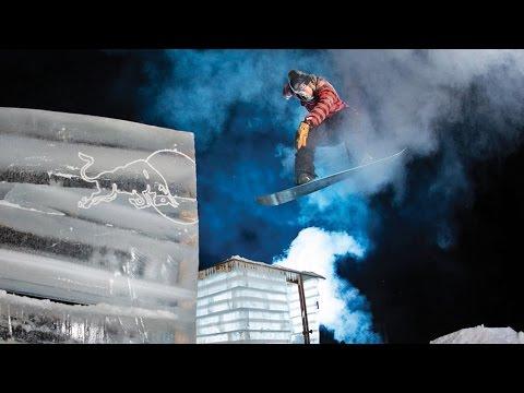 Roope Tonteri Shreds His DIY Backyard Ice Park