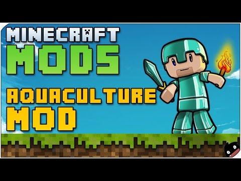 Minecraft Mods - Aquaculture (1.6.4) Pescar no tiene porque aburrir