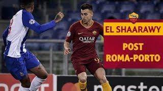 CHAMPIONS LEAGUE: El Shaarawy al termine di Roma-Porto