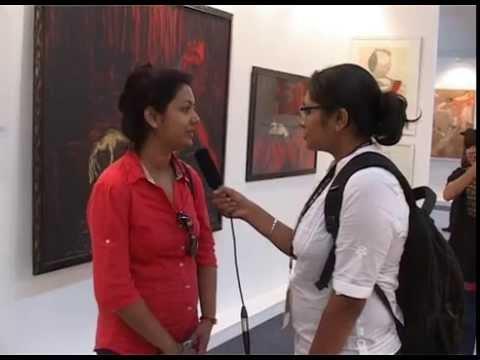 WLCI Students in Universal Art Fair, Delhi