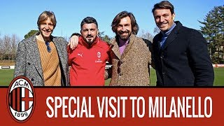"Ambrosini, Pirlo and Oddo: ""What a feeling"""