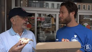 Barstool Pizza Review - Farinella Bakery Pizza With Special Guest Mike Portnoy Esq. (Bonus Lunatic)