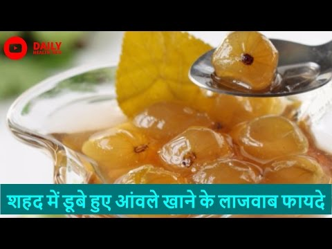 8 अद्भुत फायदा शहद में डूबे आंवले का   Amazing Health Benefits Of Amla Soaked In Honey