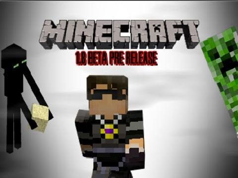 Minecraft 1.8 Beta Pre-Release on Multiplayer! Part 2