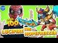 Monster Legends Lucifire the Hopefreezer level 1 to 100 Combat