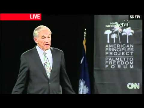 Ron Paul speech at Palmetto Freedom Forum 9/5/2011