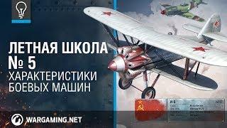 Характеристики боевых машин. Летная Школа №5. World of Warplanes.