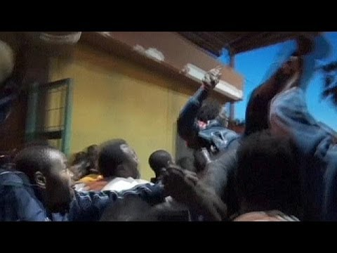 Spain's north African enclave Melilla stormed by migrants