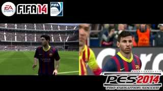 FIFA 14 Vs PES 2014 Lionel Messi Pc/Xbox360/Ps3 HD
