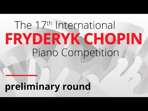 Chopin Piano Competition, session 2, 18.04.2015