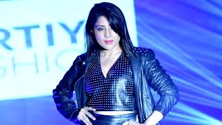 Sakshi Agarwal sets the ramp on fire at Leather Fashion Show 2016