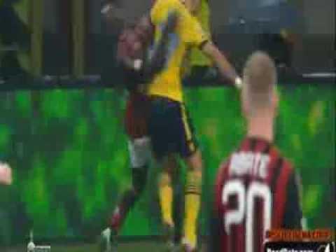 Lorik Cana vs Mario Balotelli