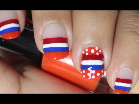 World cup Nail art WK The Netherlands