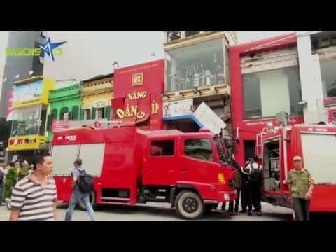 Cướp tiệm vàng Hoàng Tín - đường Nguyễn Thái Học (Sao24h.net)
