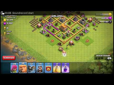 Th7 base without barbarian king and dark elixir dirl