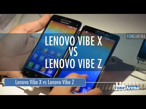Lenovo Vibe X vs Lenovo Vibe Z Hands On Comparison