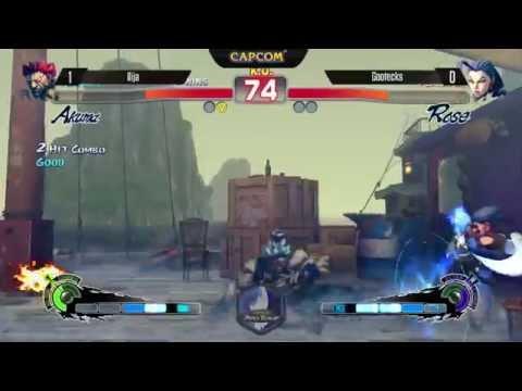 [EVO 2014 USFIV] Illja (Akuma) vs Gootecks (Rose)
