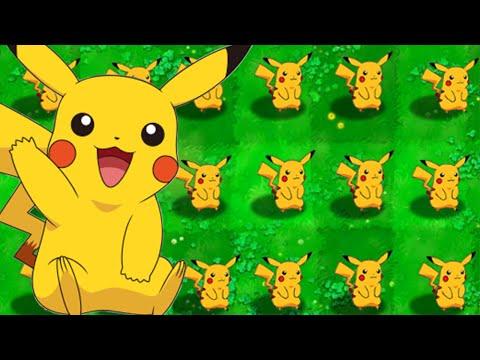 Pokemon vs Zombies - Hoa quả nổi giận phiên bản Pokemon (Phần 1)