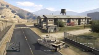 How To Enter Military Base In GTA 5 Online With No Stars