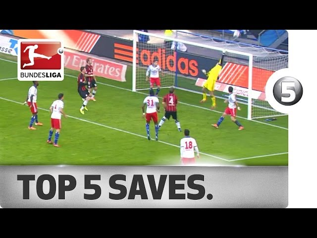 Top 5 Saves - great moves by Adler, Leno and more