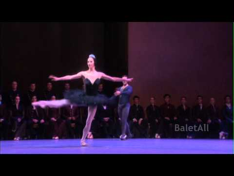 2010 Zurich Ballet Swan Lake Black PDD Coda Polina Semionova Stanislav Jermakov
