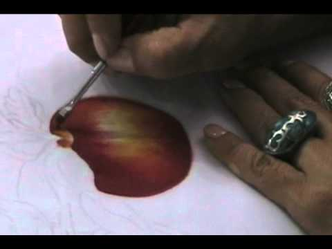 Como Pintar una Manzana sobre tela
