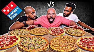 تحدي ٨ بيتزا سحس ضد سلطان و نواف 🍕 || Pizza Challenge S7S vs Sultan & Nawaf