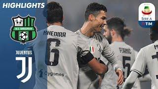 10/02/2019 - Campionato di Serie A - Sassuolo-Juventus 0-3, gli highlights