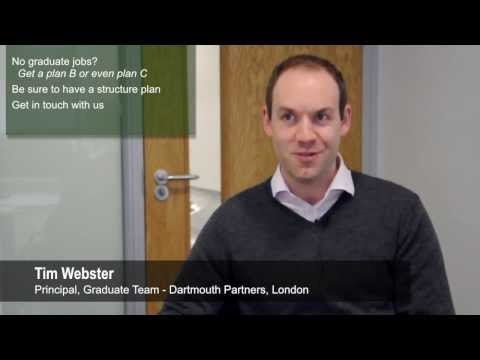 Landing a graduate job, Dartmouth Partners, Tim Webster | Coaching Assembly