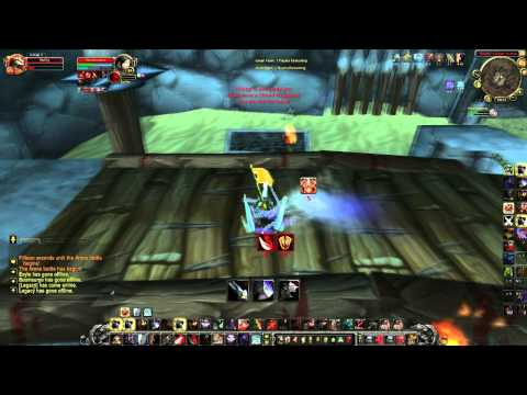 World of warcraft Swifty vs Blood DK (WoW Gameplay/Commentary)
