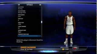 NBA 2K14 My CAREER Creation Of The Scoring Small Forward